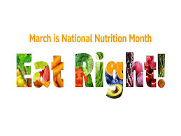 National Nutrition Month Columbia SC